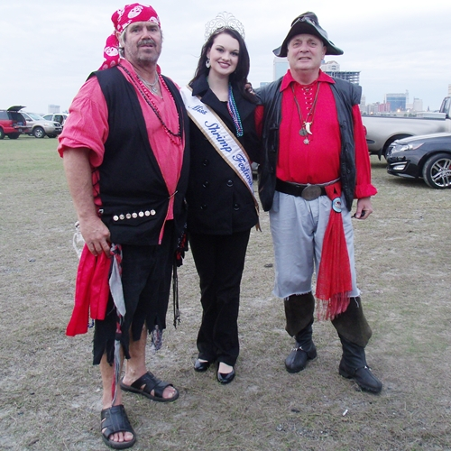 Pirates with Miss Shrimp Festival
