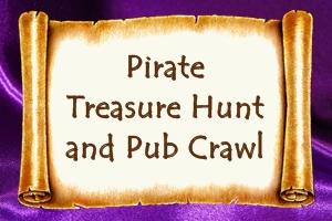 2016 Pirate Treasure Hunt and Pub Crawl