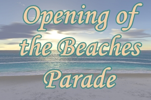 Opening of the Beaches Parade 2018