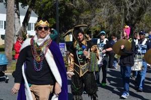 2016 St. Mary's Mardi Gras Festival, Parade, and Ball